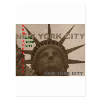 Statue of Liberty Postcard