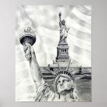 Statue of Liberty Poster Art