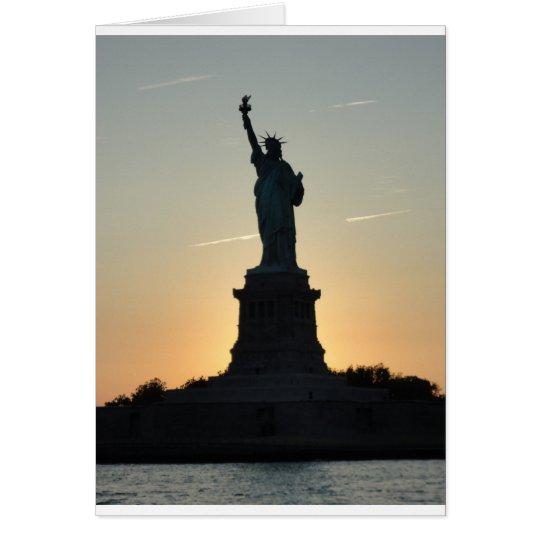 Statue of Liberty Profile - ReasonerStore Card