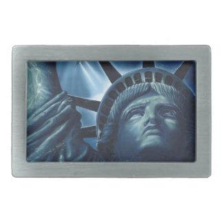 Statue of Liberty Rectangular Belt Buckle
