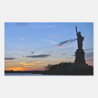 Statue of Liberty Rectangular Sticker