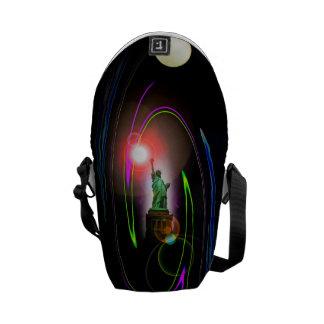Statue of Liberty - Rickshaw messenger bag