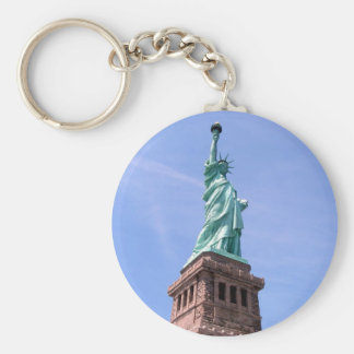 Statue of Liberty - Side View Keychain