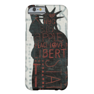 Statue of Liberty Silhouette Barely There iPhone 6 Case