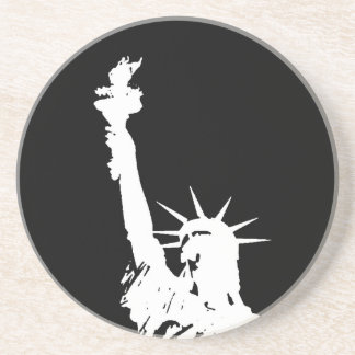 Statue of Liberty Silhouette Coaster