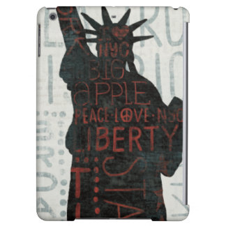 Statue of Liberty Silhouette iPad Air Cover