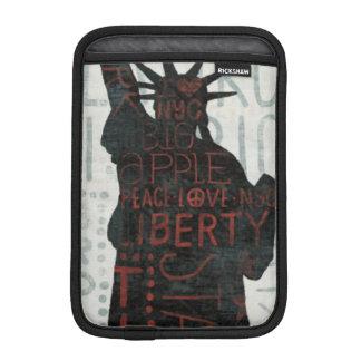 Statue of Liberty Silhouette Sleeve For iPad Mini