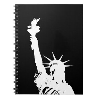 Statue of Liberty Silhouette Notebook