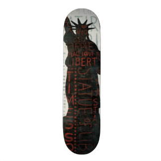 Statue of Liberty Silhouette Skateboards