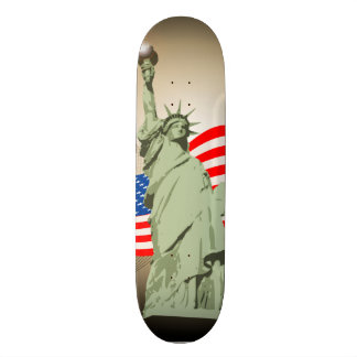 Statue of Liberty Skate Deck