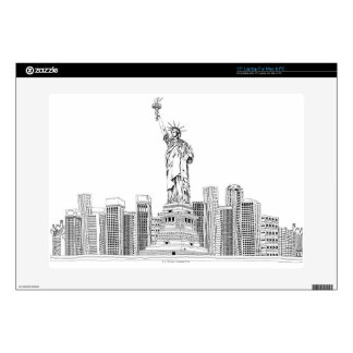 Statue of Liberty Skin For Laptop