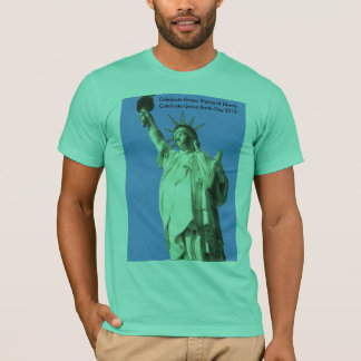 Statue of Liberty sky blue tee Shirts