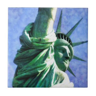 Statue of Liberty Small Square Tile