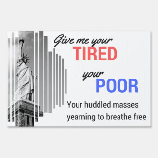 Statue of Liberty small yard sign
