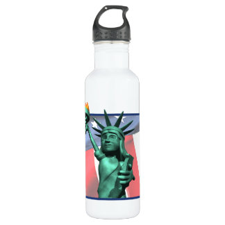 Statue Of Liberty Stainless Steel Water Bottle