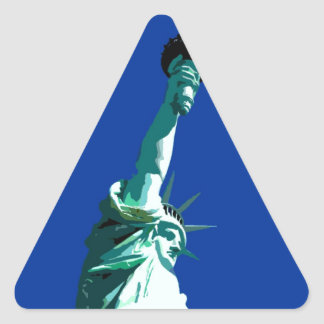 Statue of Liberty Triangle Sticker
