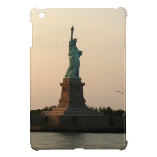 Statue of Liberty-Sundown iPad Mini Cover