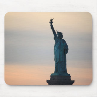 Statue of Liberty Sunset Mouse Pad