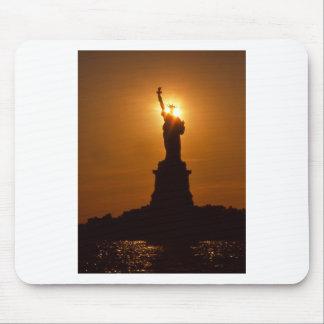Statue of Liberty-Sunset Mousepad
