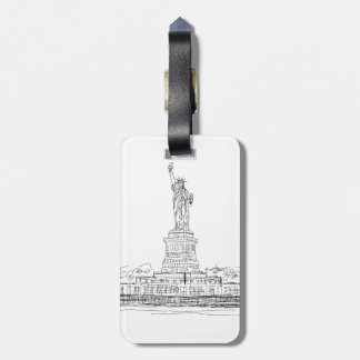 Statue of Liberty Tag For Luggage