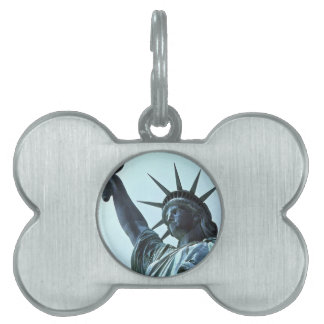 Statue of Liberty: The Torch Pet Name Tag