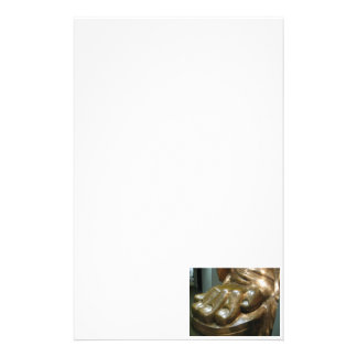 Statue of Liberty Toes Stationery