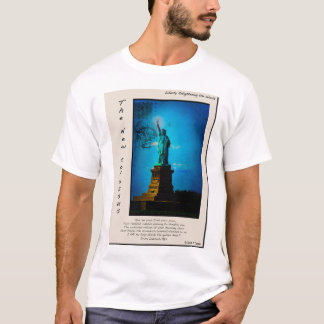 Statue of Liberty - Trading Card Style T-Shirt