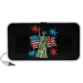 Statue Of Liberty Travelling Speakers