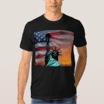 Statue of Liberty US Flag t-shirt