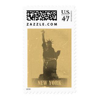 Statue of Liberty  Vintage Postage
