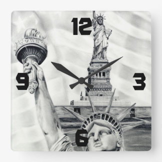 Statue of Liberty Wall Clock