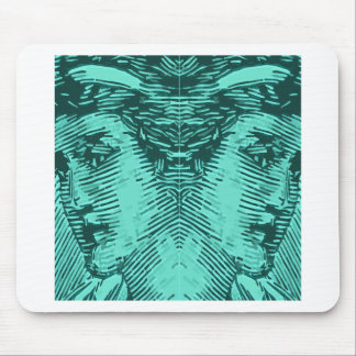 Statue of Liberty with two heads Mouse Pad
