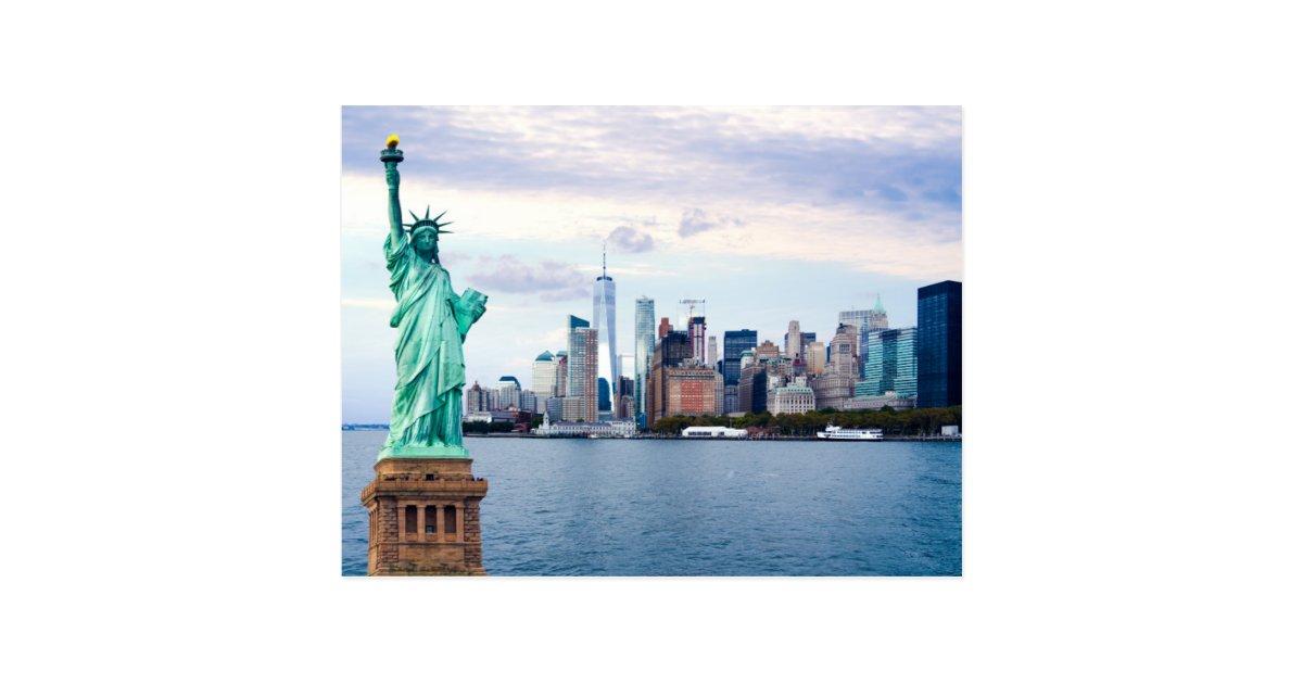 USA Statue Liberty Toilet Seat Sticker 3D Lenticular NEW $2.99 postage worldwide