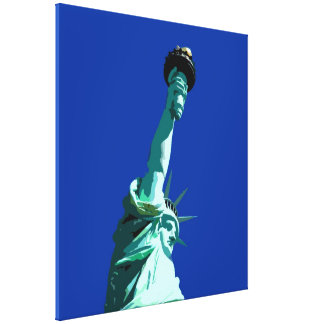 Statue of Liberty Wrapped Canvas Canvas Print