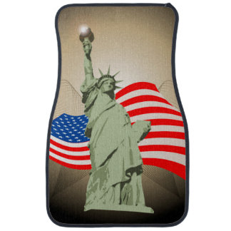 Statue of Liberty Car Mat