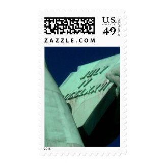 Statue of Liberty's tablet Postage Stamps