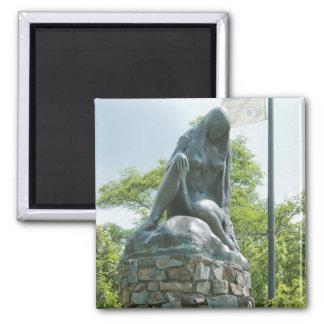 Statue of Lorelei Magnet