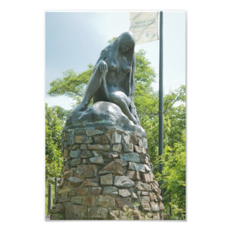 Statue of Lorelei Photo Print