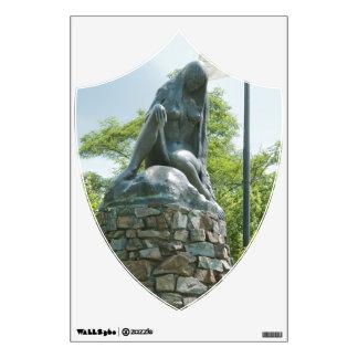 Statue of Lorelei Wall Sticker