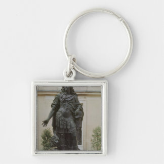Statue of Louis XIV Keychain