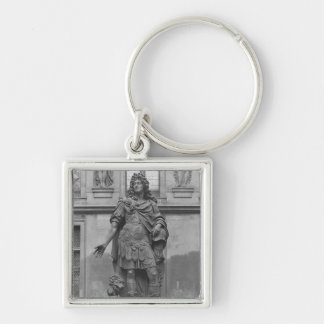 Statue of Louis XIV Keychains