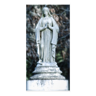 Statue of Mary Card