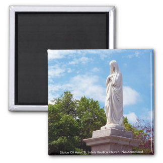 Statue Of Mary Magnet
