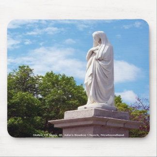 Statue Of Mary Mousepad