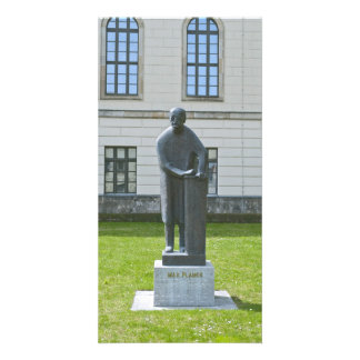 Statue of Max Planck in Berlin Card