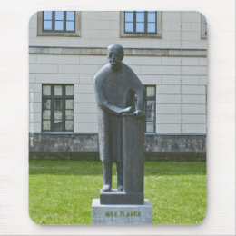 Statue of Max Planck in Berlin Mouse Pad