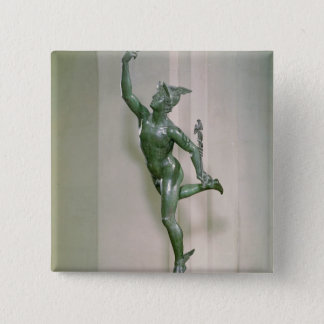 Statue of Mercury Pinback Button