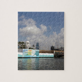 Statue of Merlion in Singapore Jigsaw Puzzle