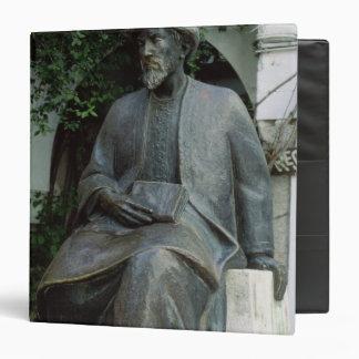 Statue of Moses Maimonides Binder