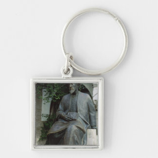 Statue of Moses Maimonides Keychain